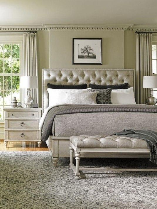 современная классическая спальня фото