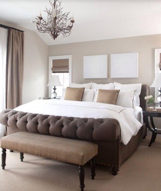 Красивые классические спальни