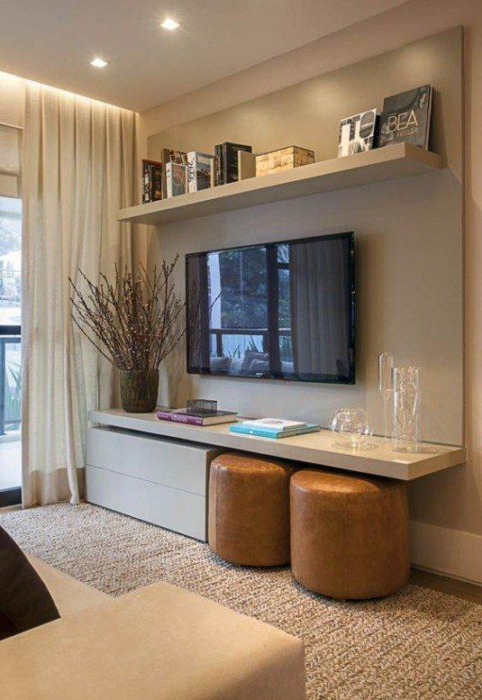 декор интерьера гостиной