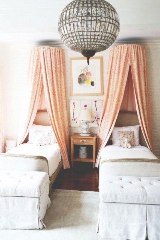 кровать с балдахином для детей