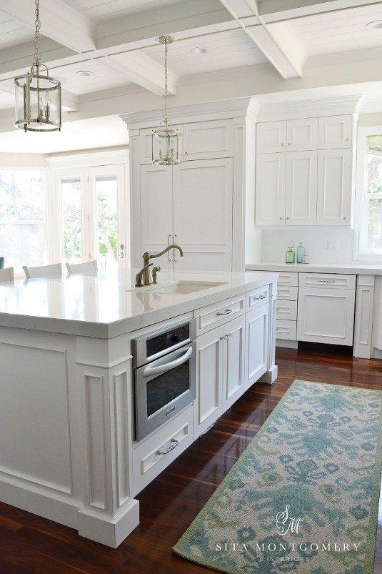 встроенная печь в кухонный остров