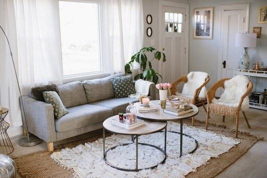 диван с тонкими боковинами