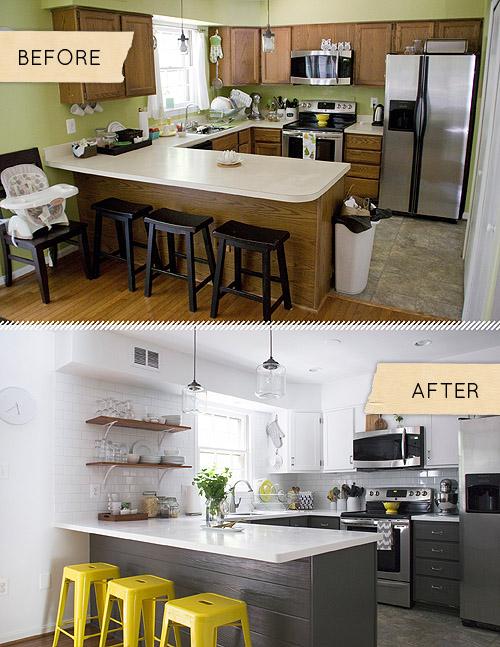 фото реальных кухонь после ремонта
