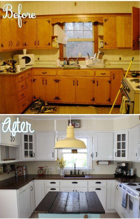кухня после ремонта руками