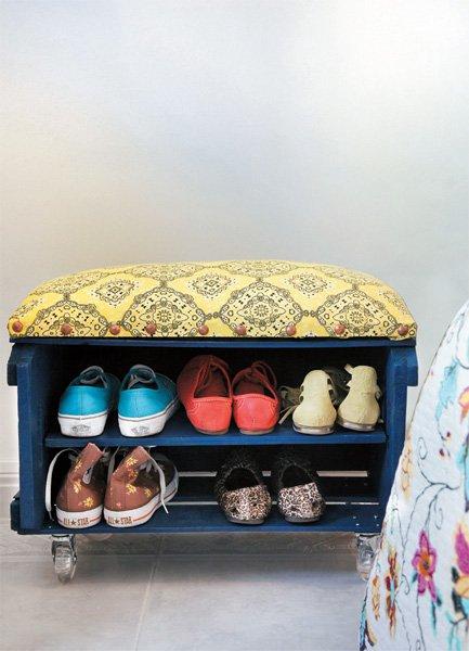 декор тумбы для обуви