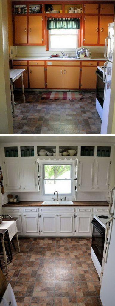 пересмотрим фото реальных кухонь после ремонта