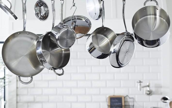 кухонная посуда из нержавеющей стали купить