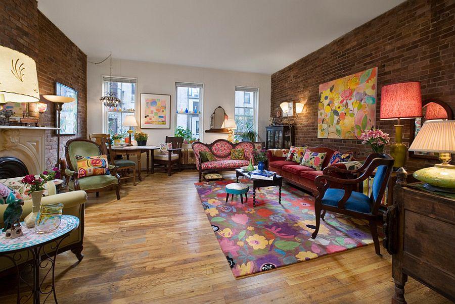 барвистая гостиная
