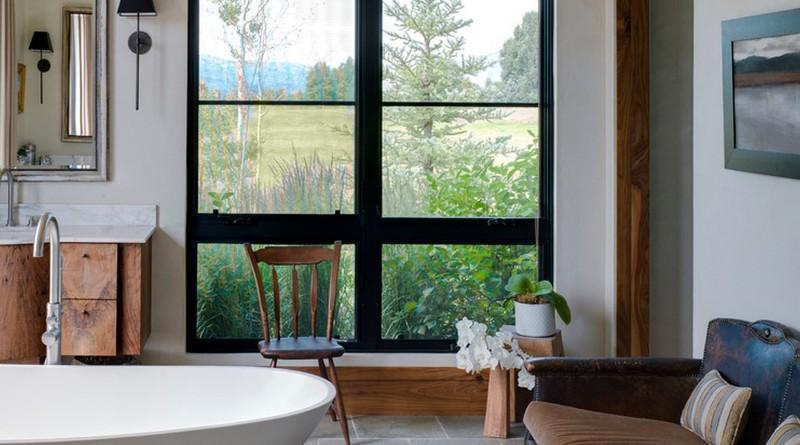 мебель большой ванной