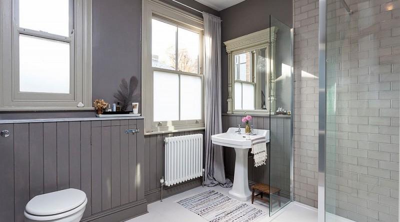 мебель ванной скандинавский стиль