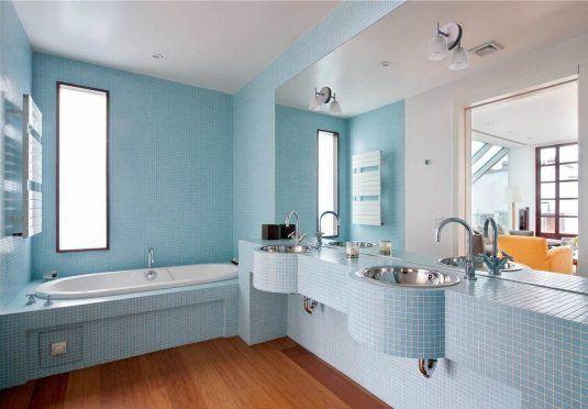 цвет стен ванной фото