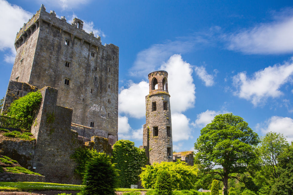 Blarney castle lodging