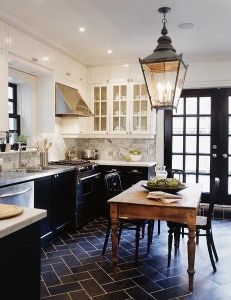 красивые черные кухни фото