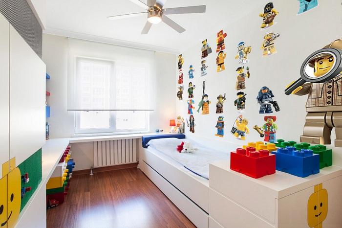 детская комната в стиле лего