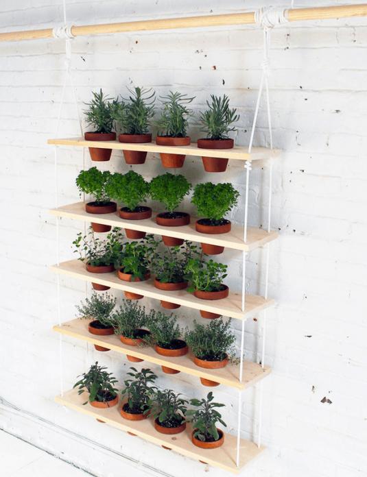 вертикальное оформление сада