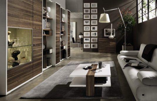 интерьер гостиной в мужском стиле