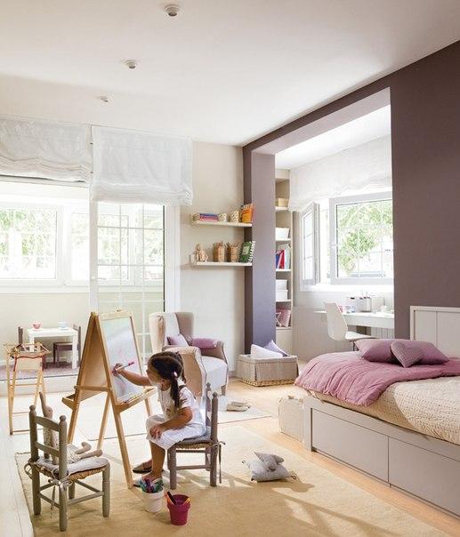 оформление детской комнаты для девочки фото