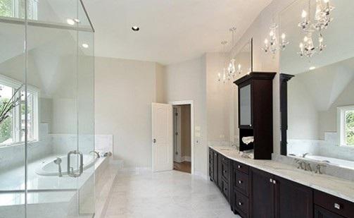 дизайн ванной комнаты плиткой