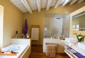 ванная комната совмещена со спальней
