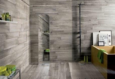 интерьер ванной комнаты из плитки