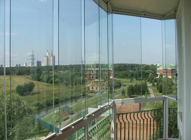 панорамное остекление балкона своими руками