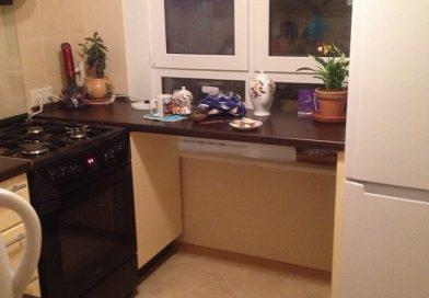 Ремонт кухни в брежневке.