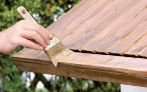 обработка антисептиком древесины
