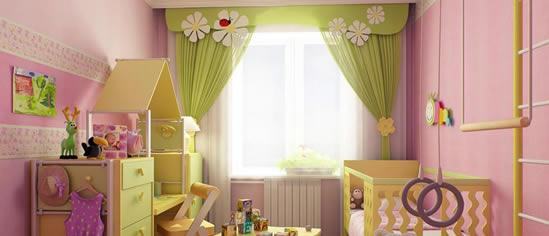 занавески для детской комнаты фото