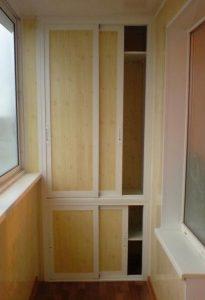 Шкаф на балкон или лоджию фото и идет как сделать своими рук.