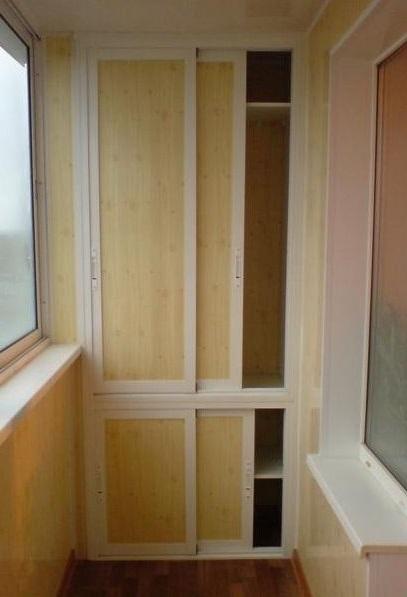 встроенный шкаф на лоджии своими руками