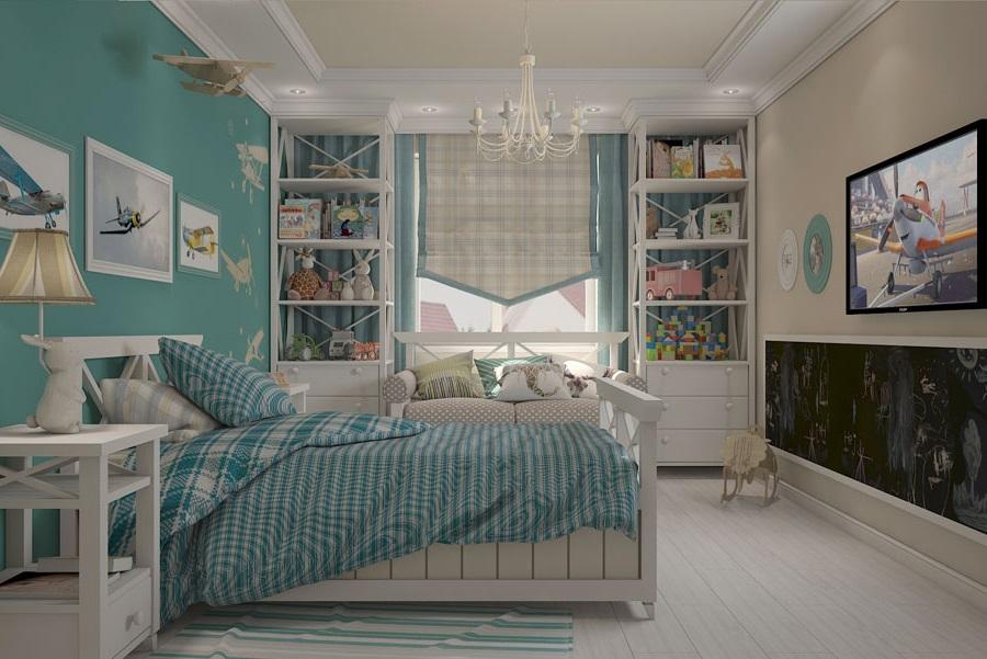 дитяча спальня в стилі прованс