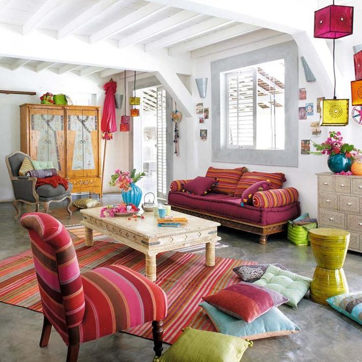 меблі в стилі бохо