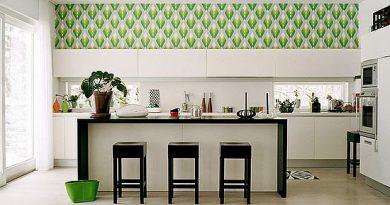 флизелиновые обои на кухню фото