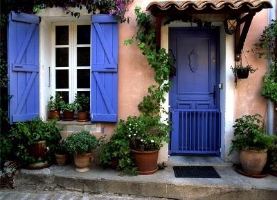 вікна в стилі прованс фото