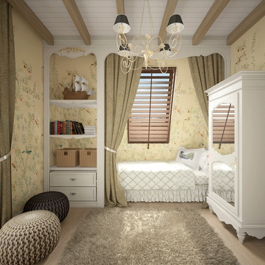 дитяча кімната в стилі прованс