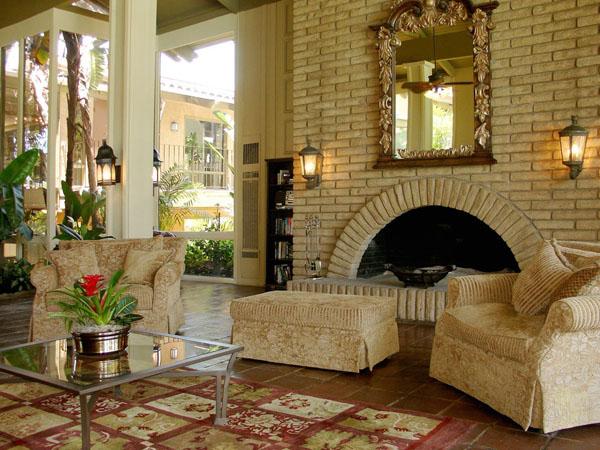 интерьер дома в средиземноморском стиле