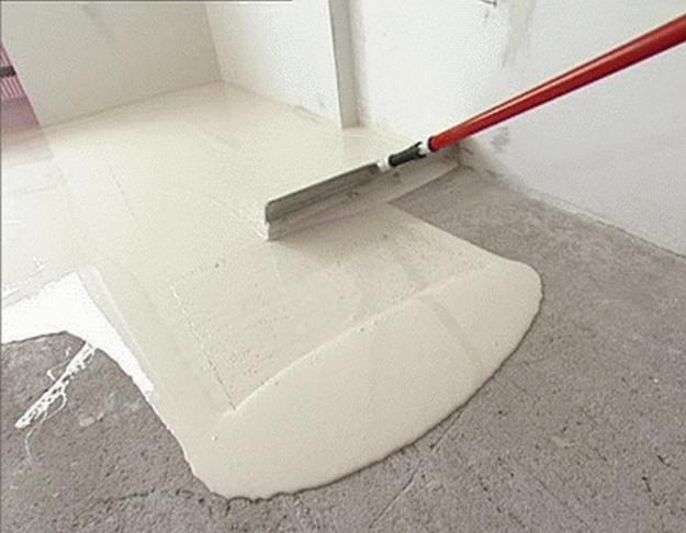Гипсо-цементный наливной пол
