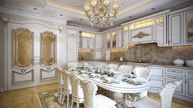 кухня в стилі бароко фото