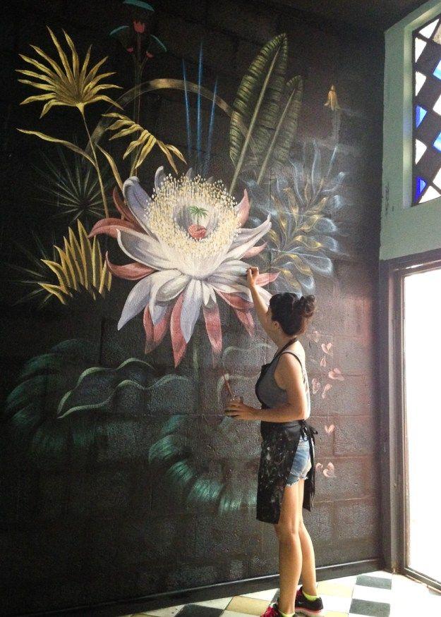 художній розпис стін фото