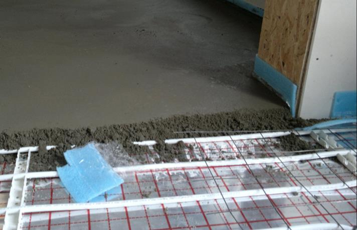 утеплення бетонної підлоги