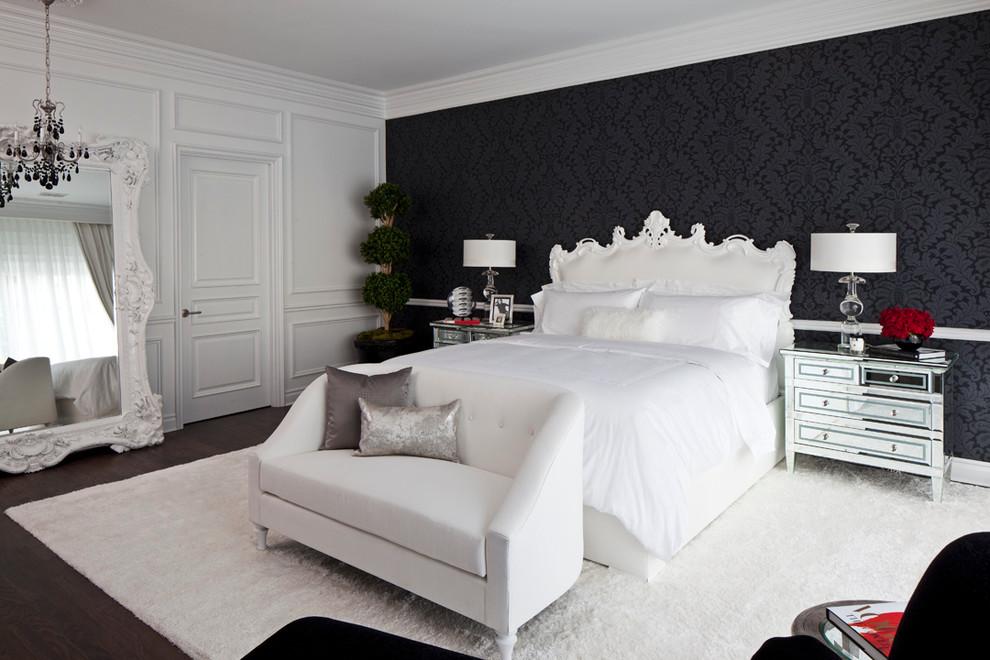 спальня в стилі бароко фото
