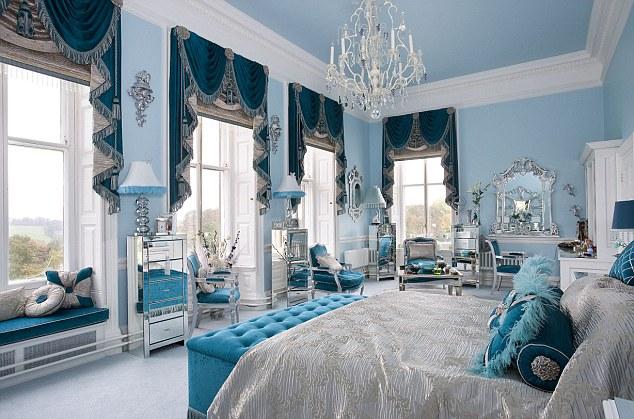 спальня в стилі бароко