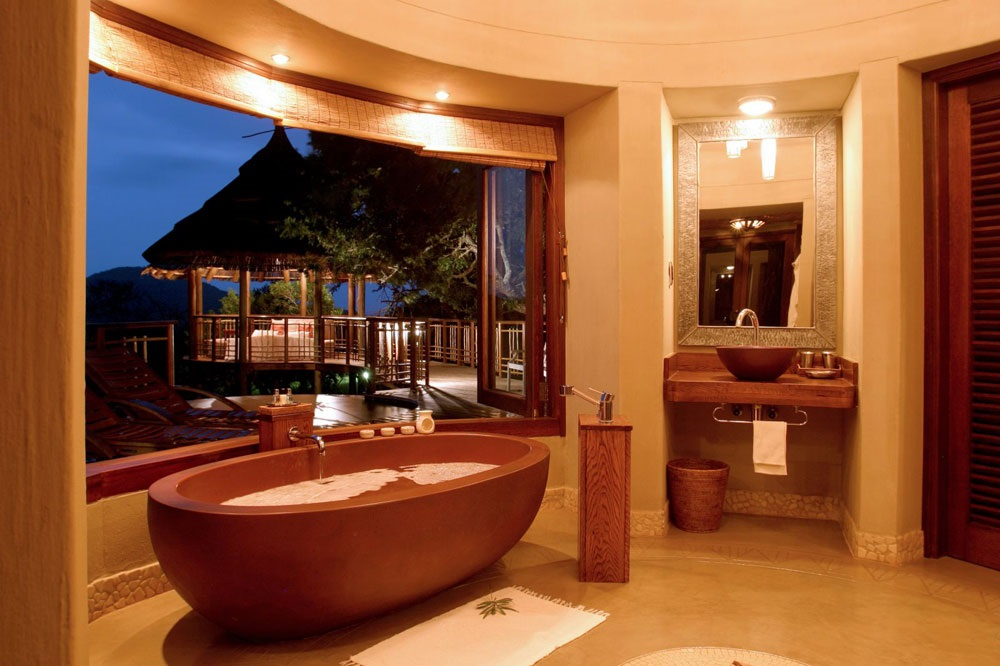 дизайн ванной комнаты в африканском стиле фото