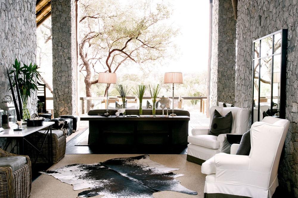 африканский стиль в интерьере прихожей