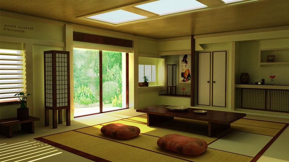дом в японском стиле фото