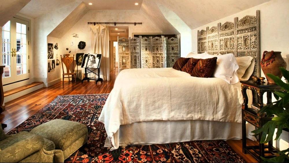 интерьер спальни в марокканском стиле
