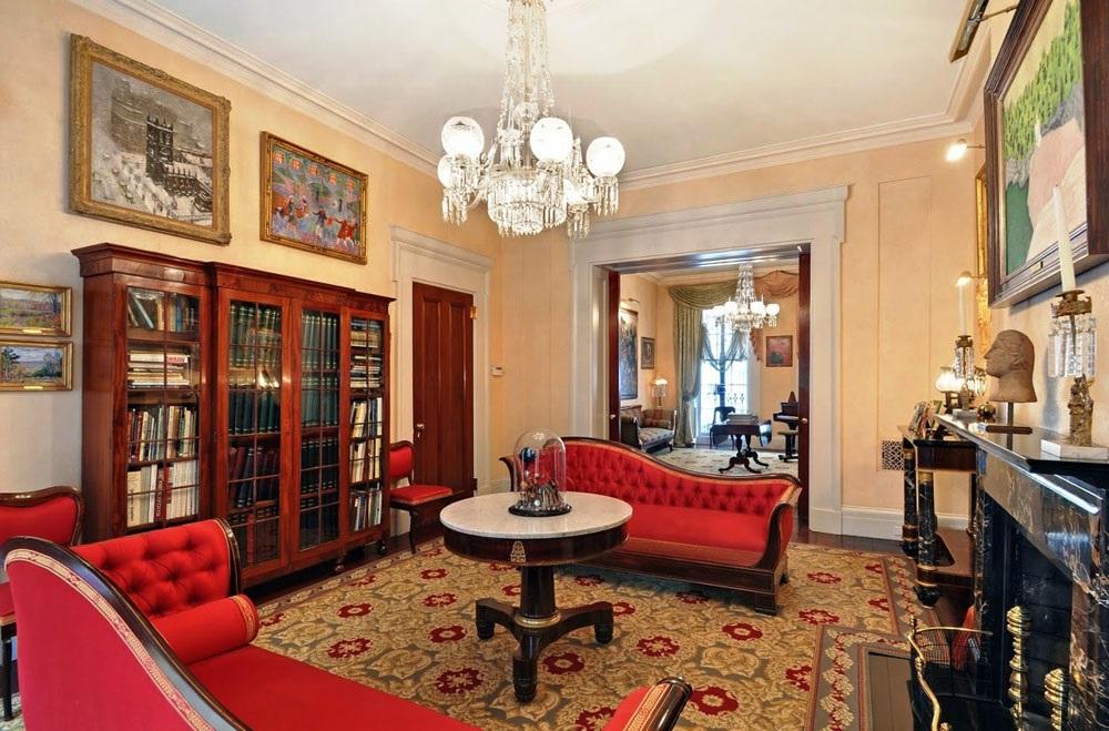 интерьер квартиры в викторианском стиле фото