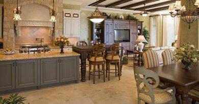 интерьер кухни в испанском стиле фото