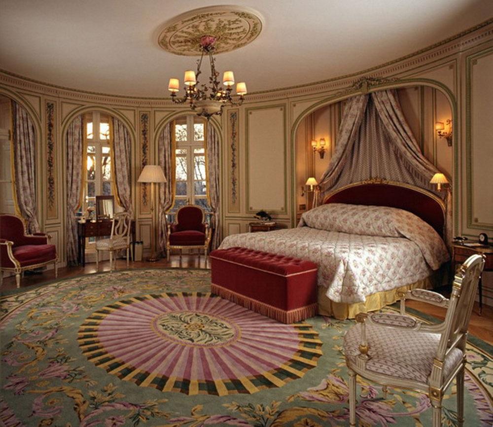 спальня в викторианском стиле фото