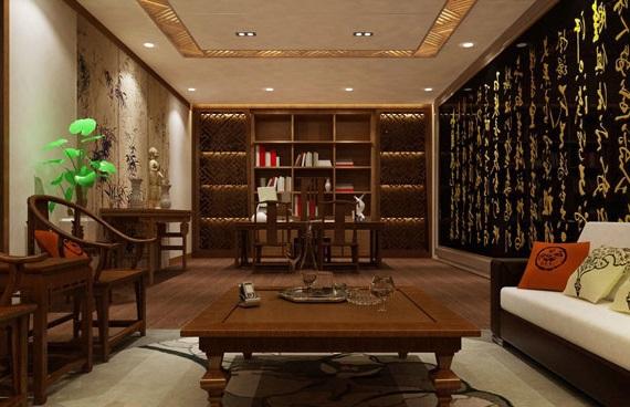 дизайн квартиры студии в китайском стиле фото